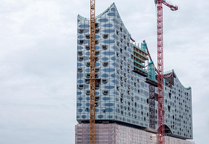 Hamburg HafenCity: Quartier Am Sandtorkai/Dalmannkai - Elbphilharmonie auf ehem. Kaispeicher A Hamburger Hafen