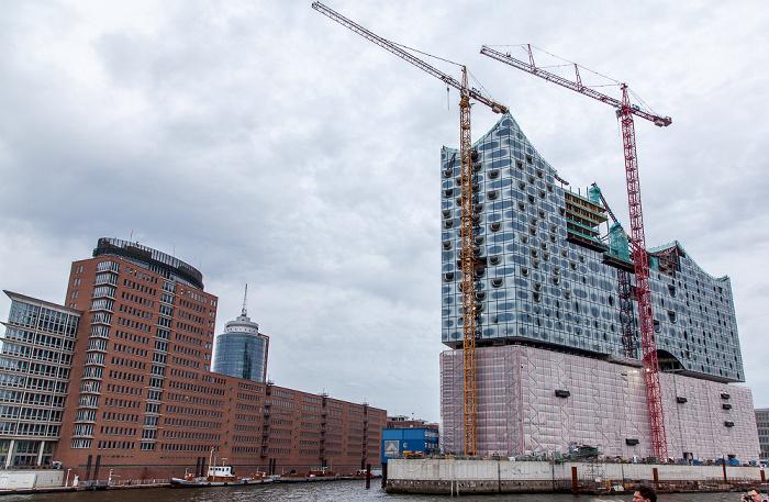 Hamburg HafenCity: Quartier Am Sandtorkai/Dalmannkai Elbe Elbphilharmonie Hamburger Hafen Hanseatic Trade Center Kaiserhöft Kaispeicher A Sandtorhafen Sandtorhöft