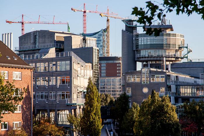 Hamburg Verlagsgebäude Gruner + Jahr Elbphilharmonie
