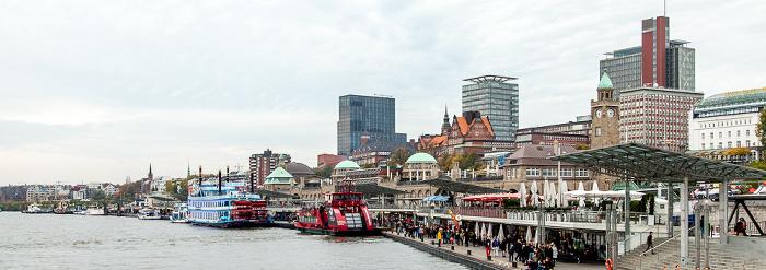 Hamburg Elbe, St. Pauli-Landungsbrücken