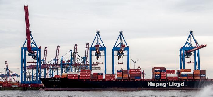 Hamburger Hafen: Containerterminal Burchardkai Hamburg