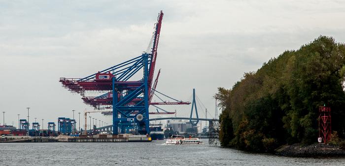 Hamburger Hafen: Containerterminal Burchardkai und Waltershofer Hafen Hamburg