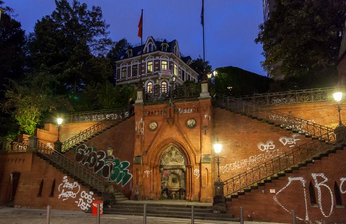 Hamburg Altona: Köhlbrandtreppe