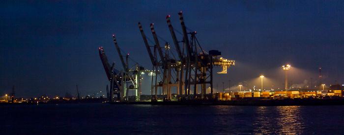 Hamburg Elbe, Hafen Hamburger Hafen
