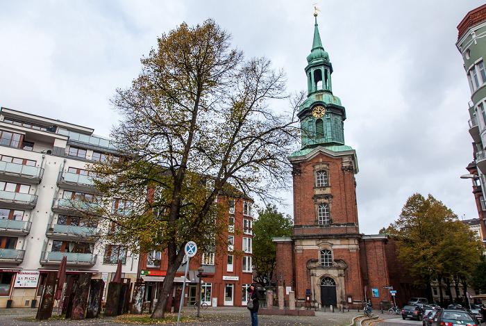 Hamburg St. Georgs Kirchhof, Heilige-Dreieinigkeits-Kirche (St.-Georgs-Kirche)