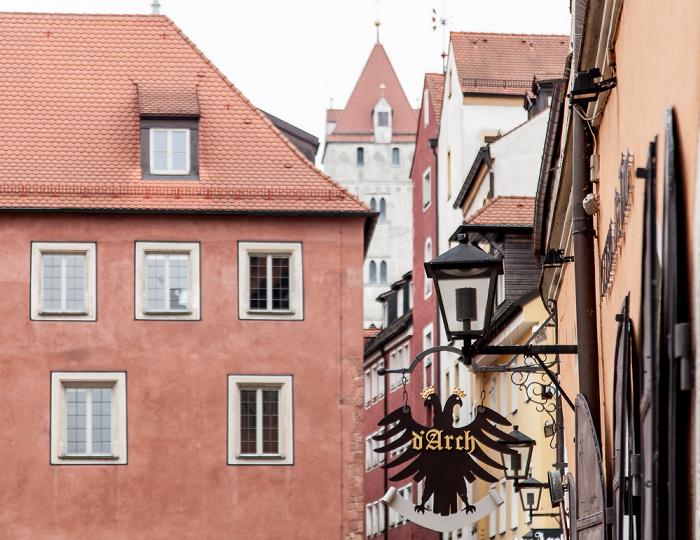 Altstadt: Haidplatz - Altstadthotel Arch Regensburg