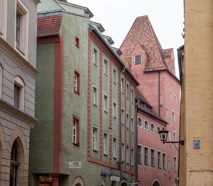 Altstadt: Neue-Waag-Gasse Regensburg