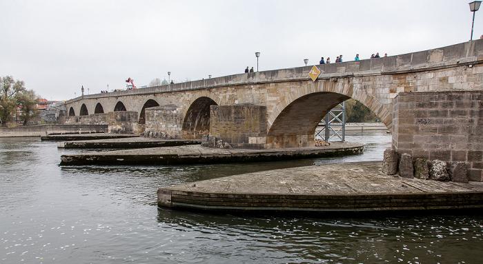 Donau, Steinerne Brücke Regensburg