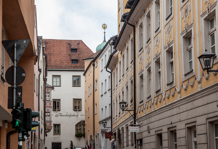 Altstadt: Weiße-Hahnen-Gasse Regensburg