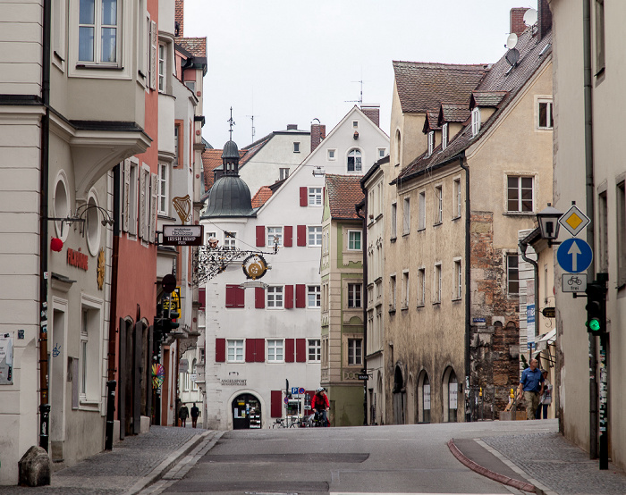 Altstadt: Weiße-Lamm-Gasse Regensburg