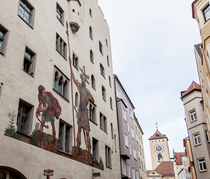 Altstadt:Goliathstraße - Goliathhaus Regensburg