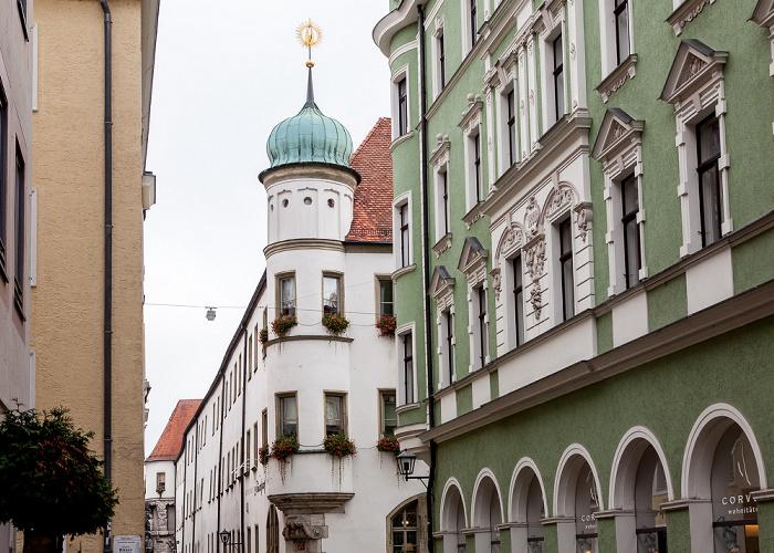 Altstadt: Goliathstraße / Krauterermarkt - Hotel Bischofshof Regensburg