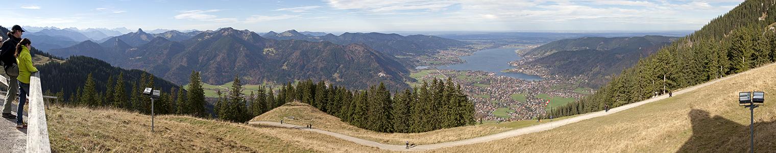 Wallberg Wendelsteingebirge, Bayerische Voralpen, Tegernsee (v.l.)
