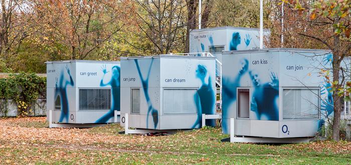 München Studentenstadt Freimann: micro compact home (O2-Würfel)