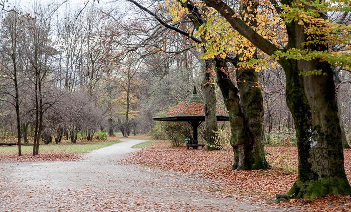 München Englischer Garten: Hirschau - Oberstjägermeisterbach