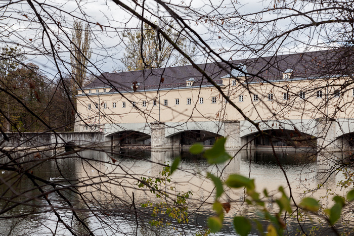 München Stauwehr Oberföhring, Isar