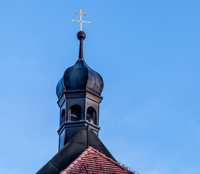 Pullach im Isartal Großhesselohe: Kapelle an der Waldwirtschaft