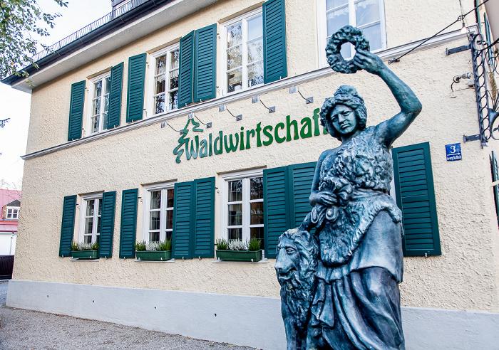 Pullach im Isartal Großhesselohe: Waldwirtschaft
