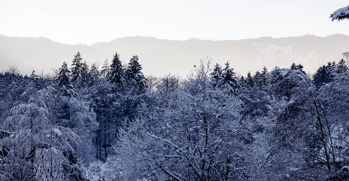 Grainau Blick aus dem Hotel Alpenhof
