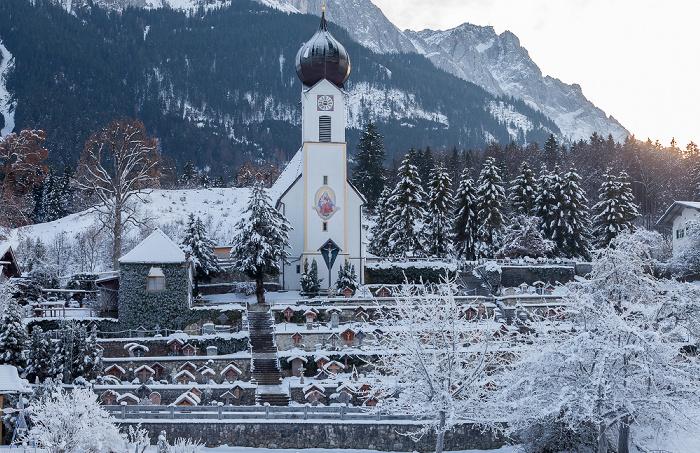 Grainau Obergrainau - Pfarrkirche St. Johannes der Täufer