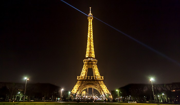 Marsfeld (Champ de Mars), Eiffelturm (Tour Eiffel) Paris 2014