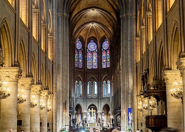 Notre-Dame de Paris: Mittelschiff, Chor