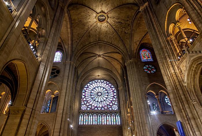 Notre-Dame de Paris: Vierung und nördliches Querschiff