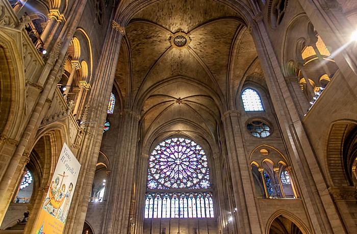 Notre-Dame de Paris: Vierung und südliches Querschiff