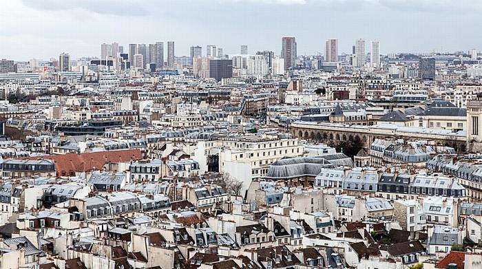Blick von der Notre-Dame de Paris Les Olympiades