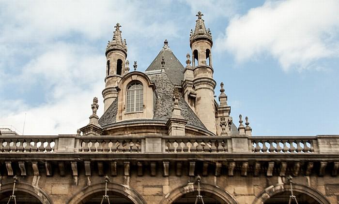 Rue de Rivoli: Temple Protestant de l'Oratoire du Louvre Paris