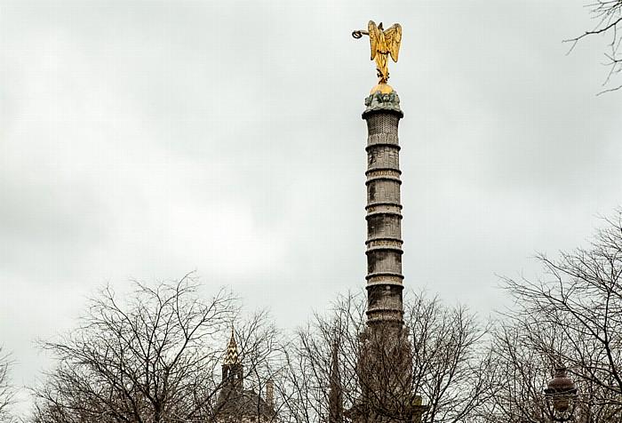 Paris Place du Châtelet: Fontaine du Palmier