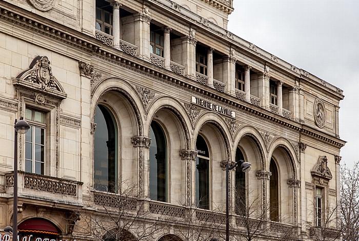 Paris Place du Châtelet: Théâtre de la Ville