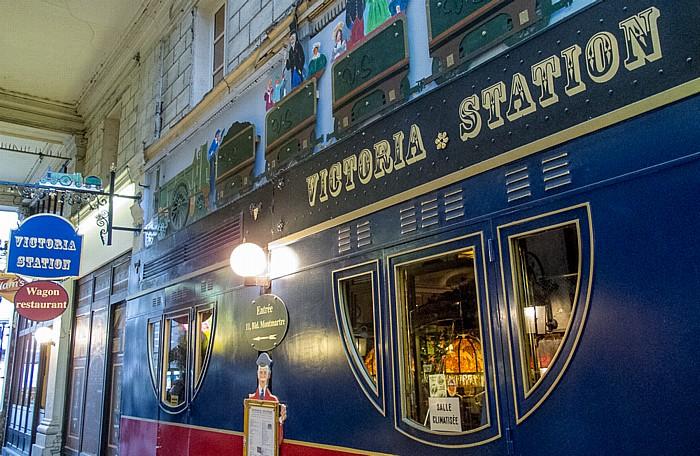 Passage des Panoramas: Victoria Station Paris