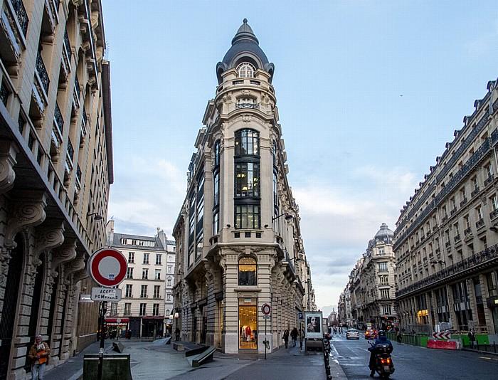 Rue Léon-Cladel (links) / Rue Réaumur Paris