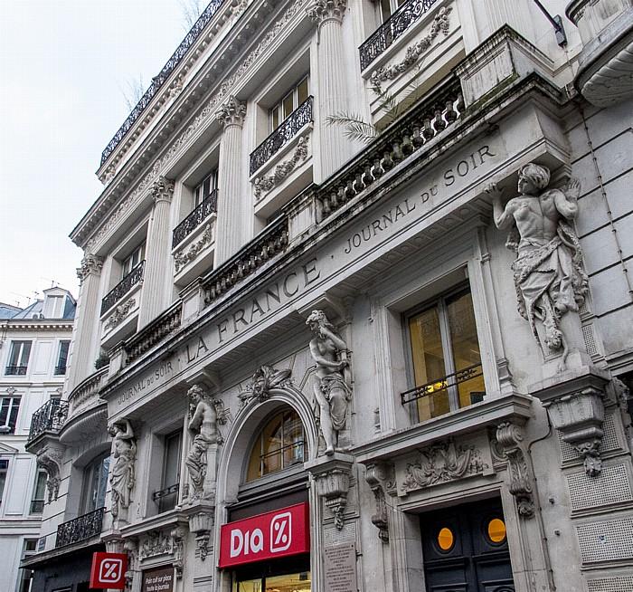 Rue Montmartre Paris