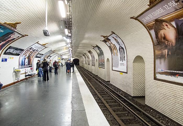 Métrostation Bonne Nouvelle Paris