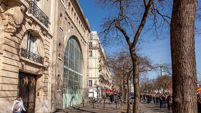 Paris Boulevard Bourdon Colonne de Juillet