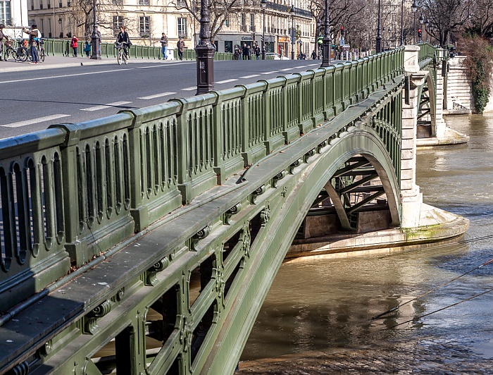 Paris Pont de Sully über die Seine