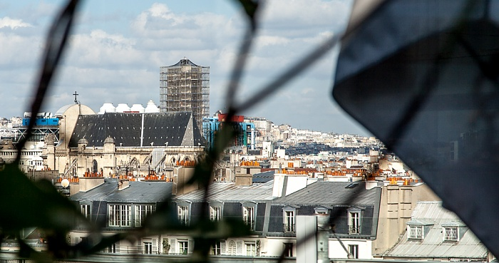 Paris Blick vom Institut du monde arabe