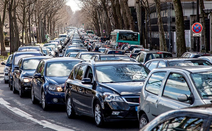 Quai Saint-Bernard: Stau in beide Richtungen Paris