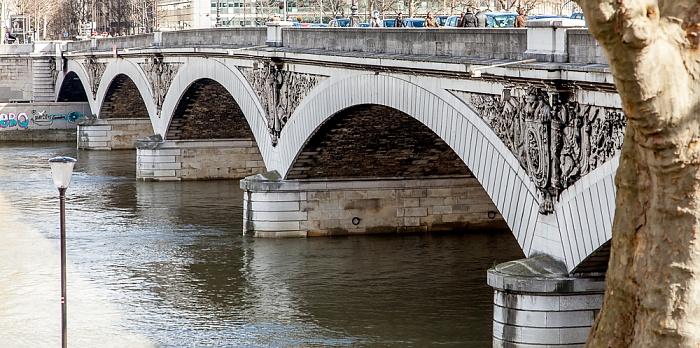 Paris Pont d'Austerlitz über die Seine