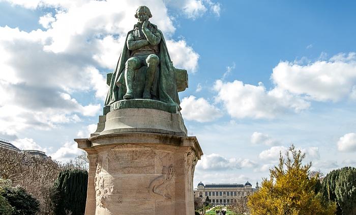 Paris Jardin des Plantes: Denkmal für Jean-Baptiste de Lamarck Muséum national d'histoire naturelle