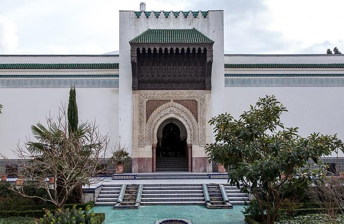 Grande Mosquée de Paris (Große Pariser Moschee): Innenhof Paris