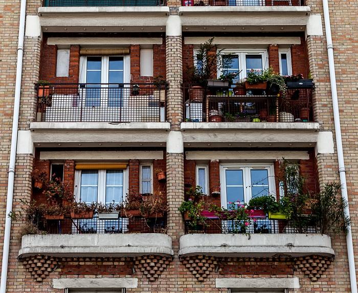 Rue Georges Desplas Paris