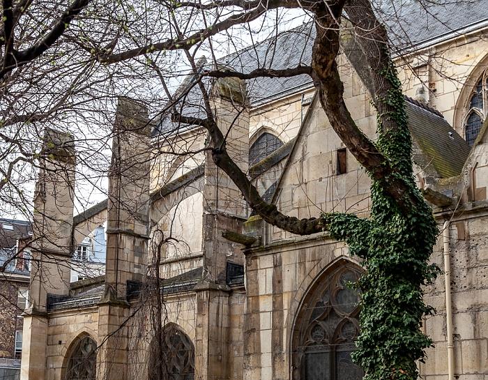 Paris Église Saint-Médard