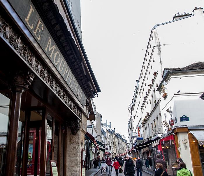 Quartier Latin: Rue Mouffetard Paris