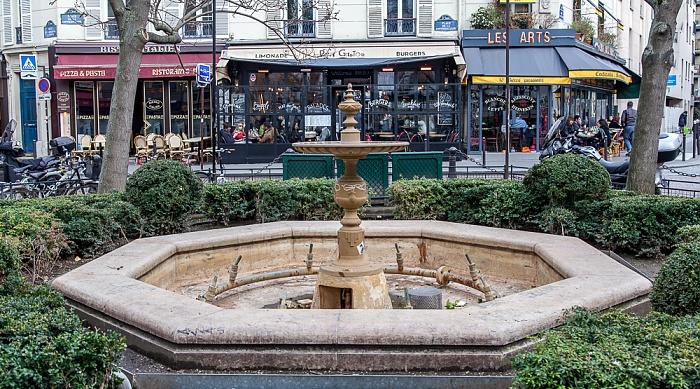 Quartier Latin: Place de la Contrescarpe Paris