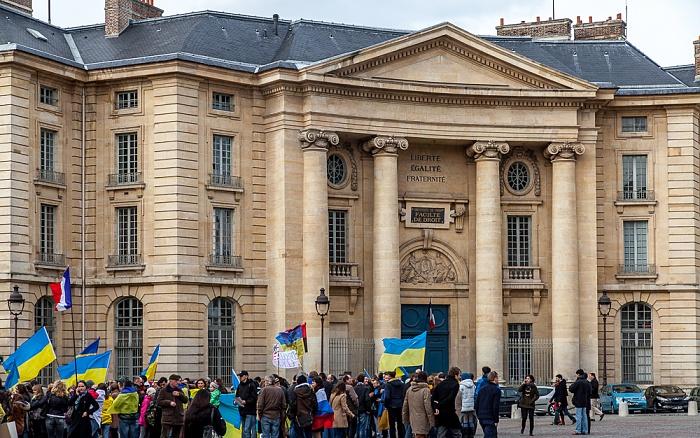 Paris Quartier Latin: Place du Panthéon - Mairie du 5e arrondissement