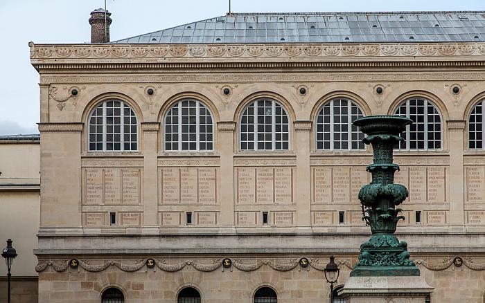 Quartier Latin: Place du Panthéon - Bibliothèque Sainte-Geneviève Paris