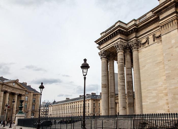 Paris Quartier Latin: Place du Panthéon - Panthéon